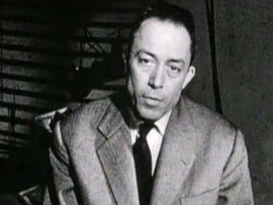 Albert Camus. [RTS]
