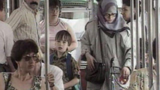 Emigrés turcs dans le quartier du Petit-Bâle en 1993. [RTS]