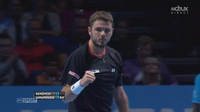 Berdych – Wawrinka (3-6): premier set disputé et remporté par Stan [RTS]