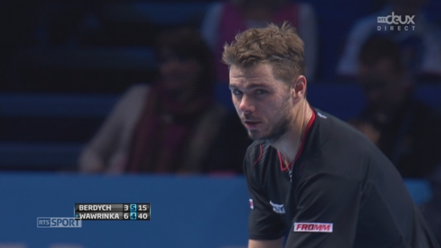 Berdych – Wawrinka (3-6, 5-5): 2 beaux points de Stan [RTS]