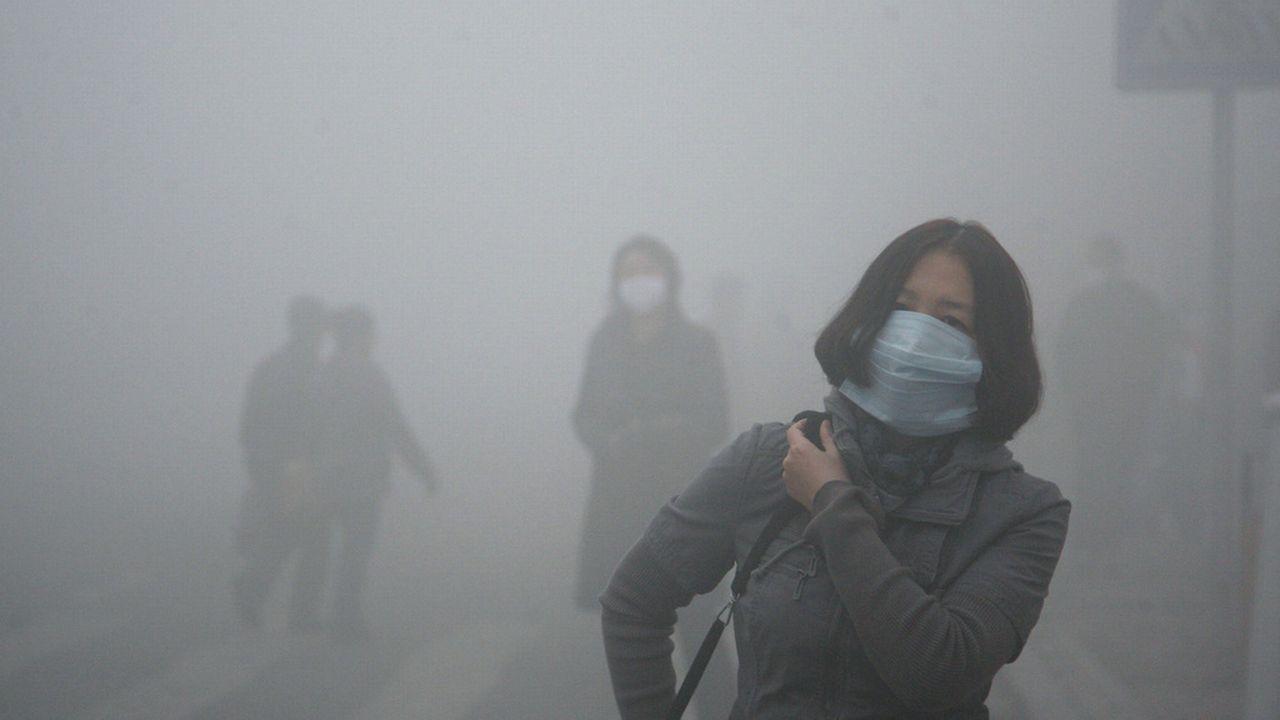 La pollution atteint des pics incontrôlables en Chine [AP Photo/Kyodo News - Keystone]
