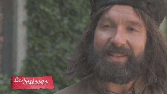 """Je crois en l'alliance avec Uri et Unterwald"": Werner Stauffacher interprété par Michael Neuenschwander [RTS]"