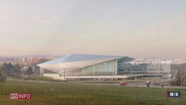 L'EPFL inaugure la première façade solaire verticale au monde [RTS]