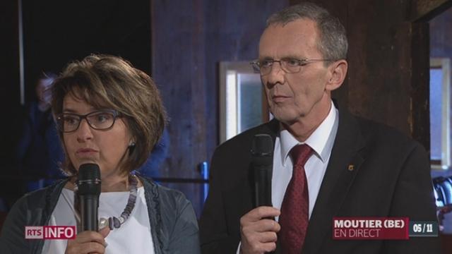 Question jurassienne: entretien avec Elisabeth Baume-Schneider et Philippe Perrenoud (1-2) [RTS]