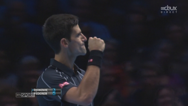 Djokovic - Federer (6-4):Jeu, break et set pour Djokovic... [RTS]