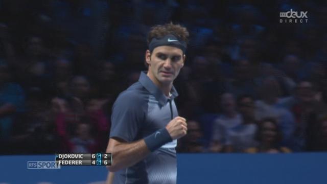 Djokovic - Federer (6-4, 6-7): Federer est de retour! Il remporte le 2e set de façon (très) convaincante [RTS]