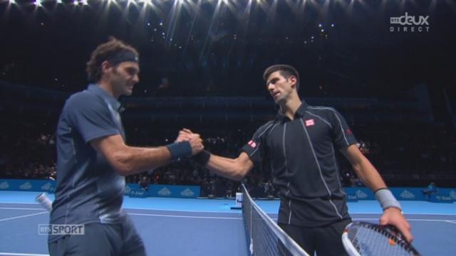 Djokovic - Federer (6-4, 6-7, 6-2): Djokovic s'impose en 2h22, Federer en progrès [RTS]