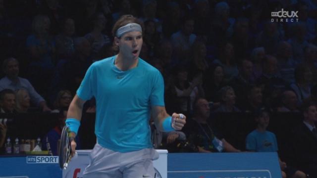 Nadal - Wawrinka (3-2, 30-0): Quel échange! Le plus beau de la 1ère manche? [RTS]