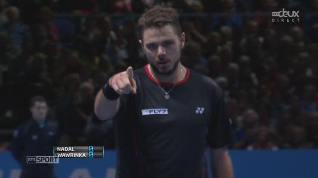 Nadal - Wawrinka (5-5): Oui! Wawrinka break avec la manière [RTS]