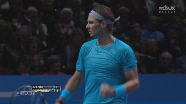 Nadal - Wawrinka (7-6): Wawrinka trébuche au sens propre comme au figuré [RTS]