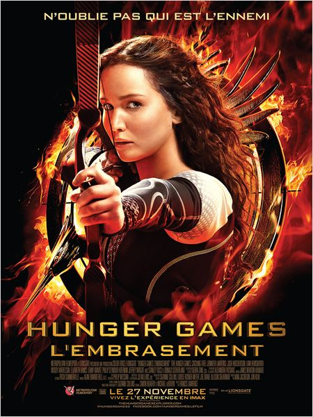 "L'affiche du film ""Hunger Games II""."
