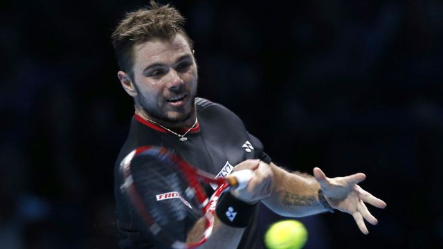 Wawrinka s'incline en beauté face à Nadal. [Sang Tan - AP/Keystone]