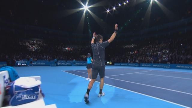 Djokovic - Del Potro (6-3 3-6 6-3). Le Serbe l'emporte finalement en 3 manches [RTS]