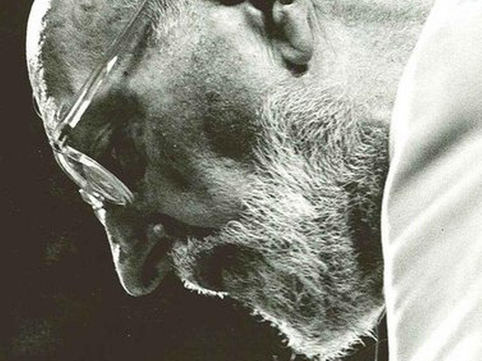 Portrait du chef d'orechestre Ernest Ansermet. [RTS]
