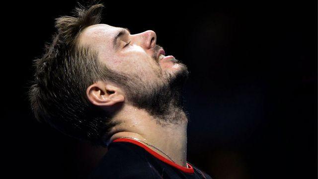 Wawrinka est largement satisfait de son parcours au Masters. [Andy Rain - EPA/Keyston]