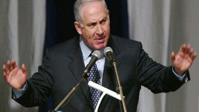 Benyamin Netanyahou, Premier ministre israélien. [Sven Nackstrand - AFP]