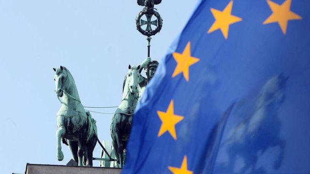 La Commission européenne a annoncé le lancement d'une enquête approfondie sur l'économie allemande. [Sebastian Willnow - AFP]