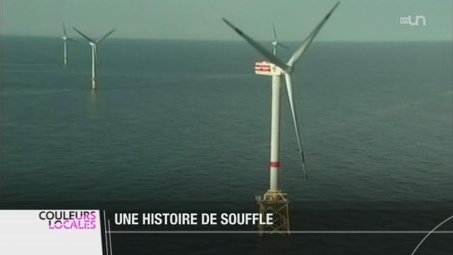 BE: rendez-vous au Mont-Soleil, au pied de 16 éoliennes [RTS]