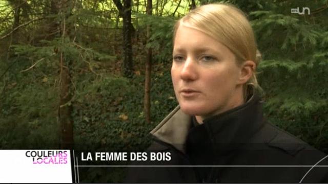 JU: le canton compte la seule femme garde-faune de Romandie [RTS]