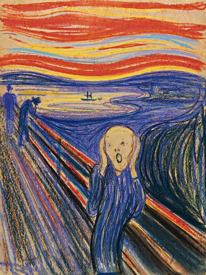 """Enchère record pour le """"Cri"""" d'Edvard Munch qui atteint près de 120  millions - rts.ch - Culture"""