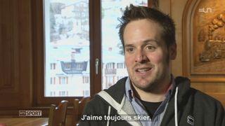 Le Mag: Daniel Albrecht met fin à sa carrière de skieur [RTS]