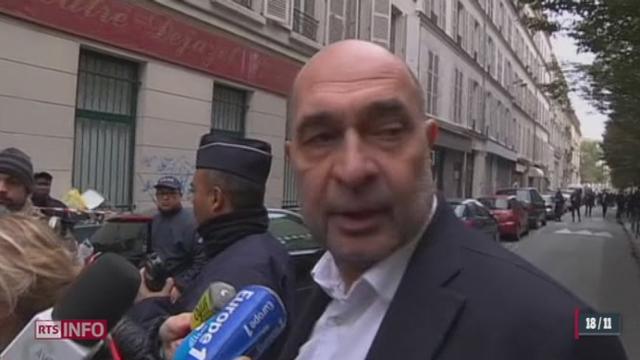 Un homme armé s'introduit dans les locaux du quotidien Libération: le point avec François Sergent, directeur adjoint [RTS]