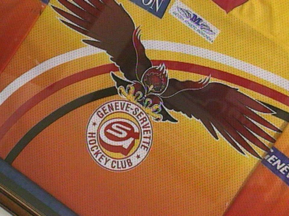 Le Genève Servette HC et le hockey business. [RTS]