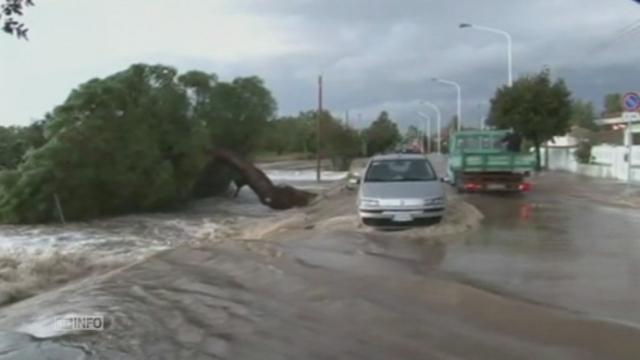 Violentes inondations en Sardaigne [RTS]