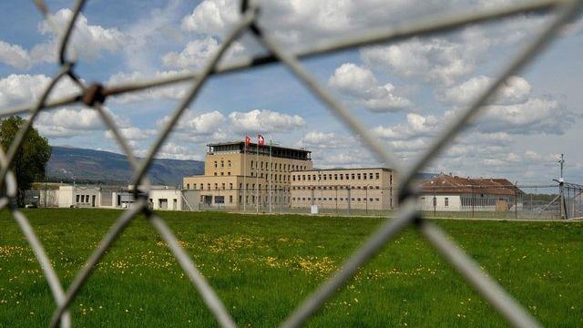 Skander Vogt est mort dans la prison de la Plaine de l'Orbe.  [Dominic Favre - Keystone]