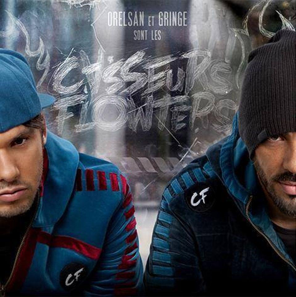 """La cover de """"Orelsan et Gringe sont les Casseurs Flowters"""". [7th Magnitude / Wagram Music]"""