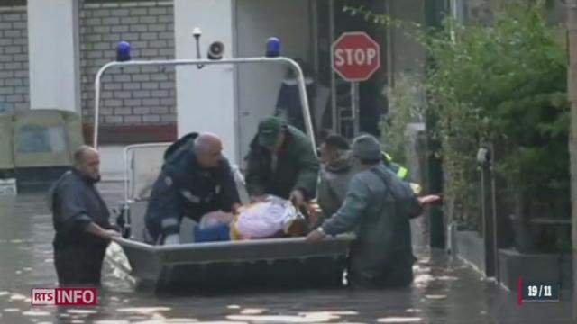 Italie - Sardaigne: l'état d'urgence est déclaré suite à des inondations [RTS]