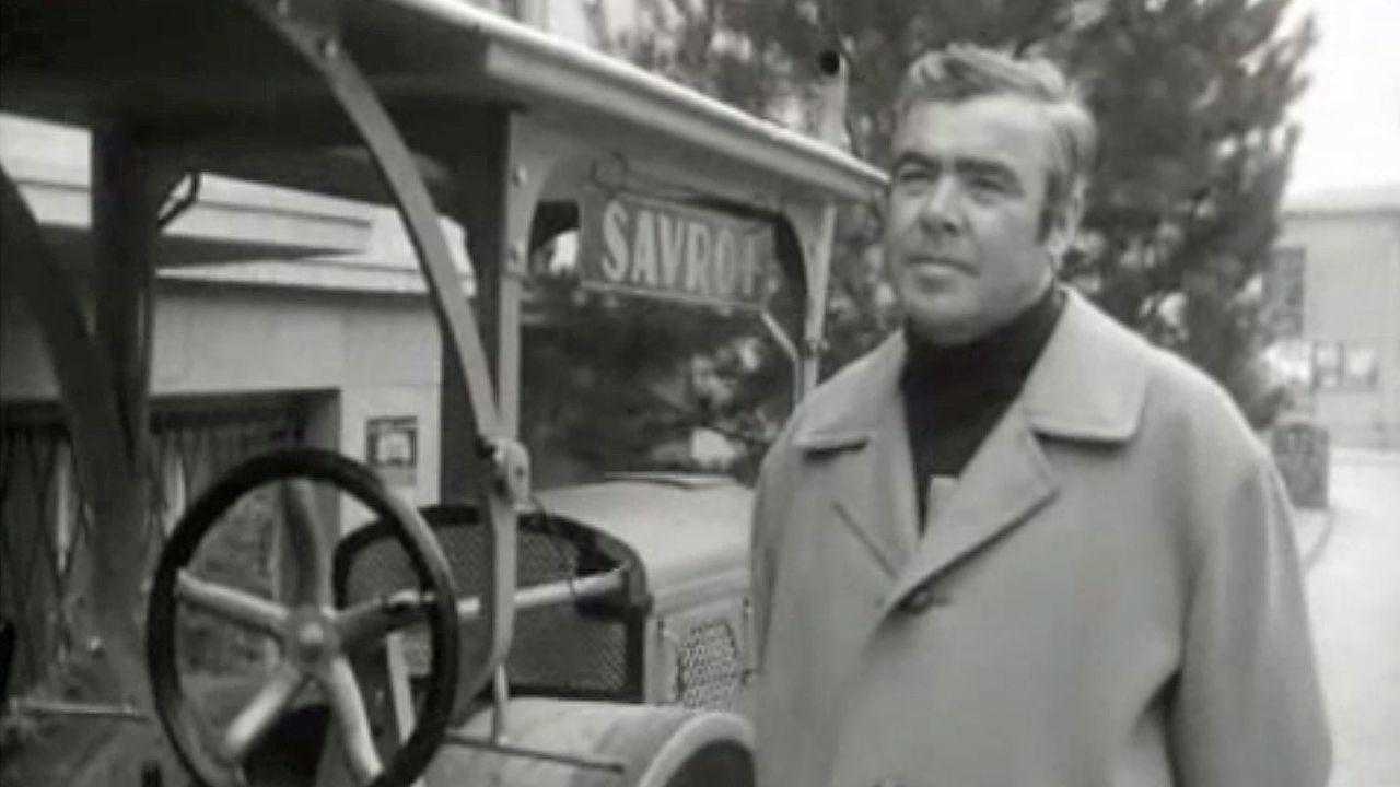 """André Filippini dans l'émission """"Aujourd'hui"""", archives TSR. [RTS]"""