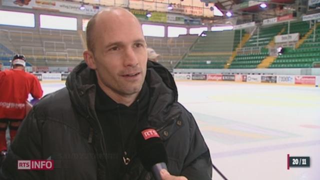 Hockey: Sandy Jeannin, capitaine de Fribourg Gottéron, se confie sur sa commotion cérébrale [RTS]