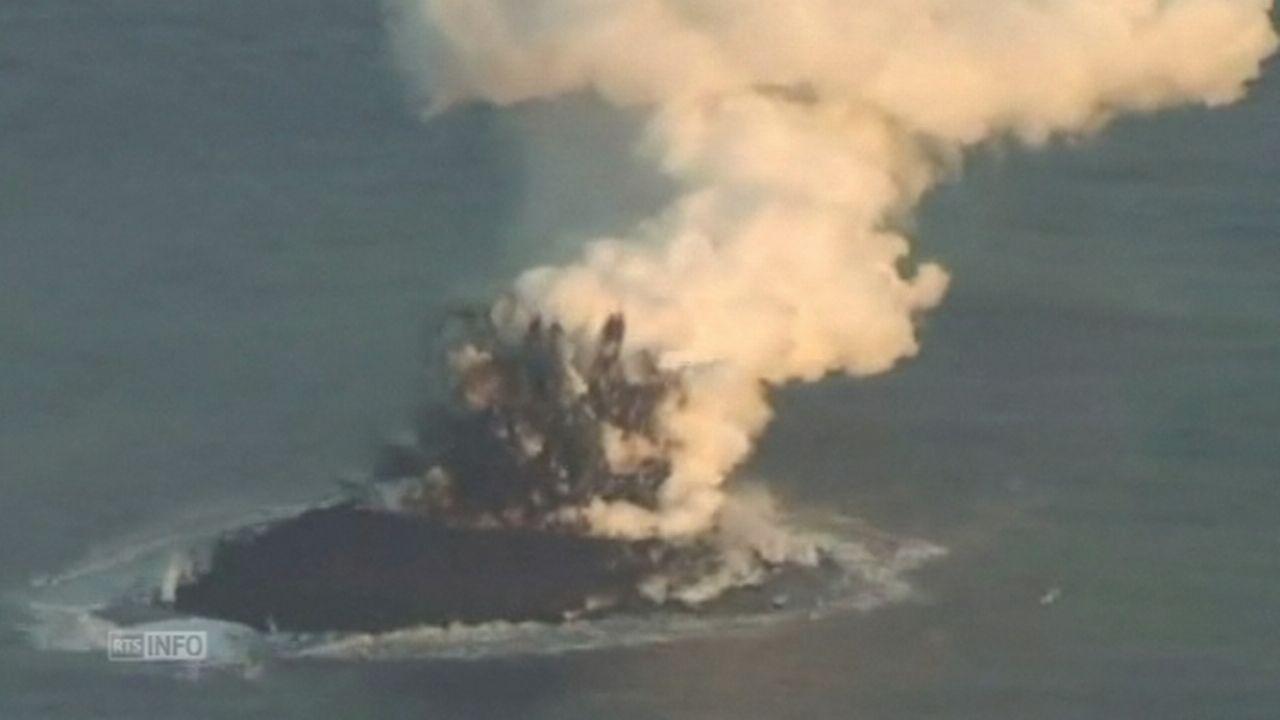 Une nouvelle île émerge au large du Japon [RTS]