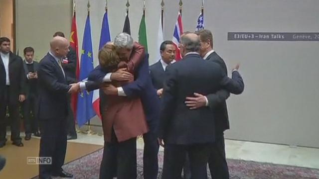 Accord conclu sur le nucléaire iranien à Genève cette nuit [RTS]