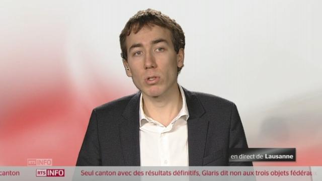 Initiative 1.12 - La réaction de Benoît Gaillard [RTS]
