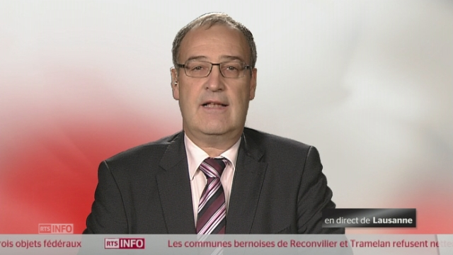 Initiative sur la famille - La réaction de Guy Parmelin UDC [RTS]