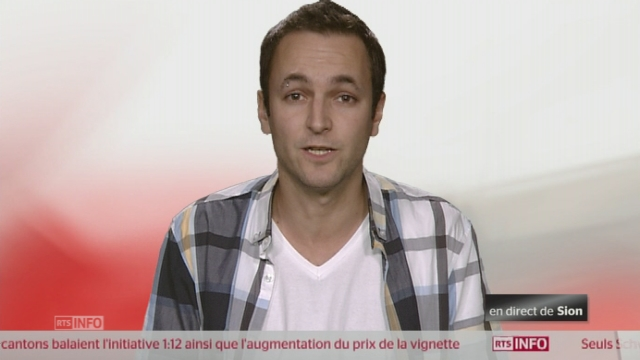 1:12 - La réaction de Mathias Reynard PS [RTS]
