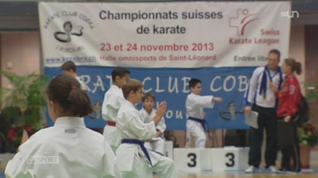 Championnats de Suisse de karaté à Fribourg: reportage sur 3 jeunes karatékas [RTS]