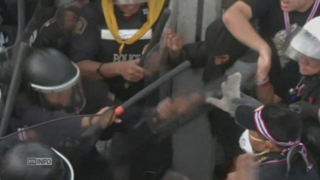 La tension monte d'un cran à Bangkok [RTS]