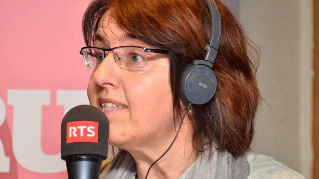 Elisabeth Baume-Schneider. [Gaël Klein - RTS]
