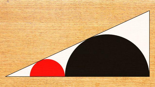 Les premiers Sangaku remontent à la période Edo, qui va de 1603 à 1867. Ils étaient gravés sur des tablettes en bois.