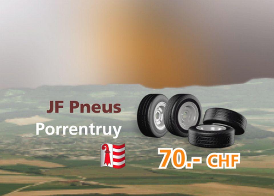 JF Pneus à Porrentruy [RTS]