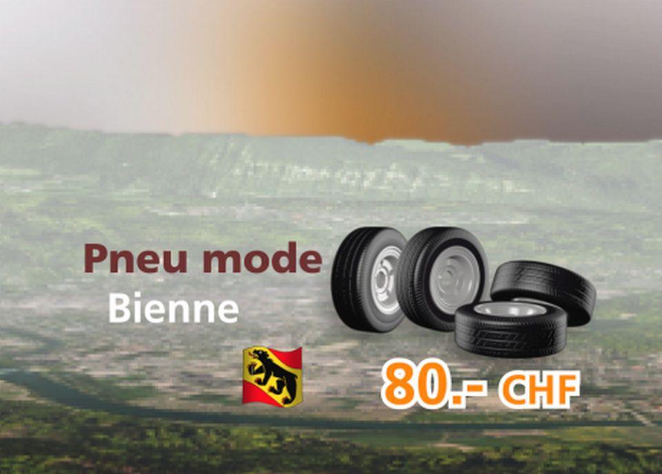 Pneu mode à Bienne [RTS]