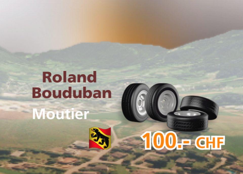 Roland Bouduban à Moutier [RTS]