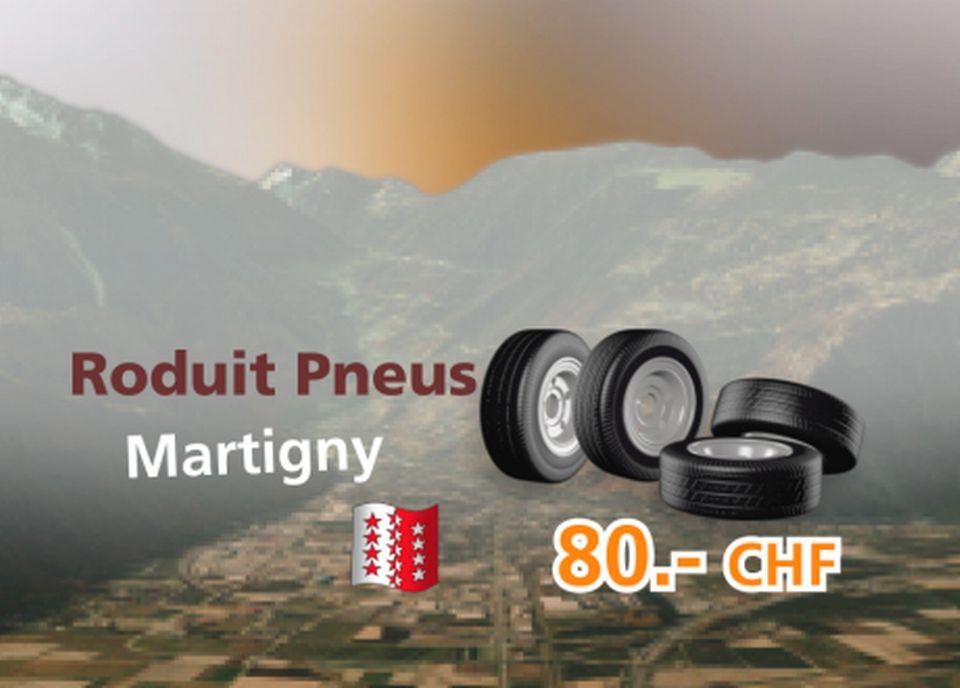 Roduit Pneus à Martigny [RTS]