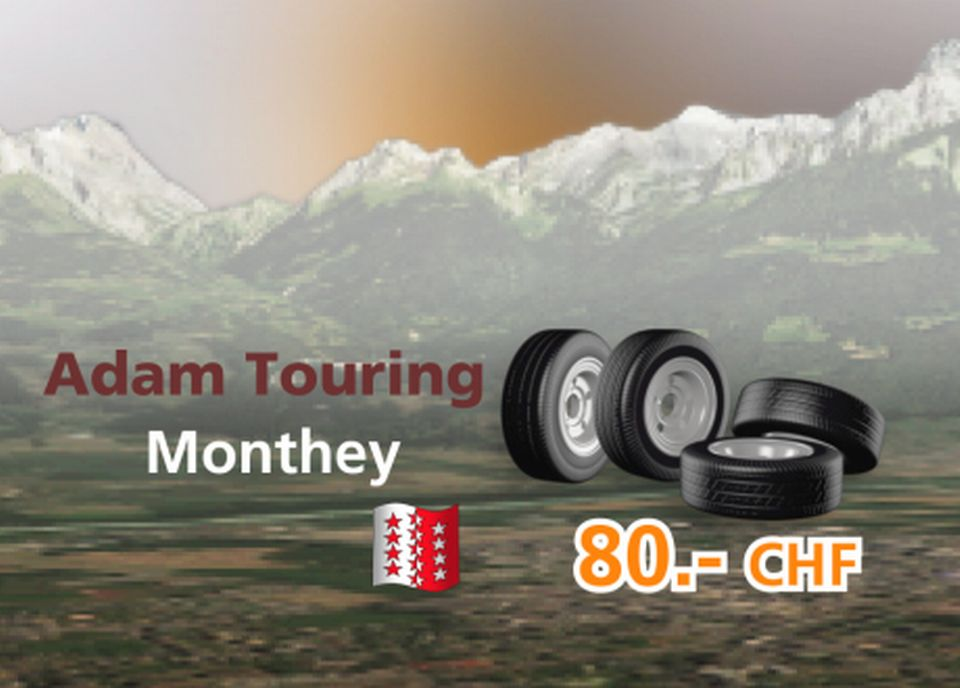 Adam Touring à Monthey [RTS]