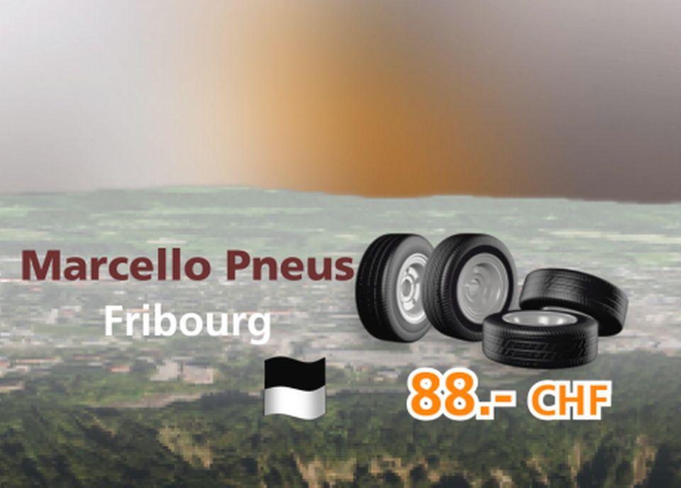 Marcello Pneus à Fribourg [RTS]