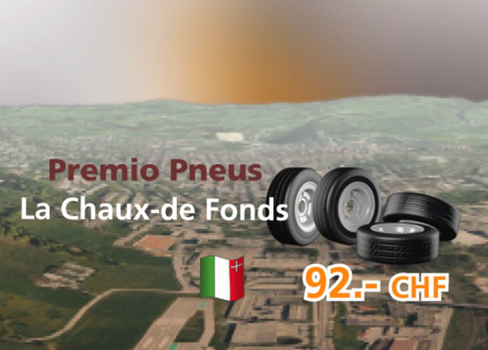 Premio Pneus à La Chaux-de-Fonds [RTS]
