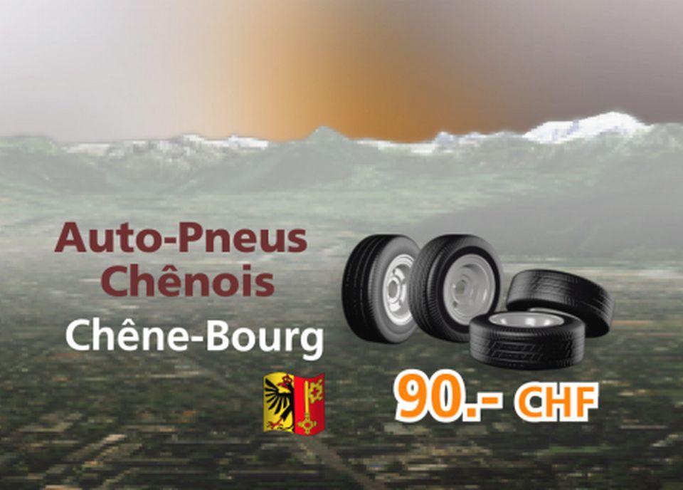 Auto-Pneus Chênois à Chêne-Bourg [RTS]